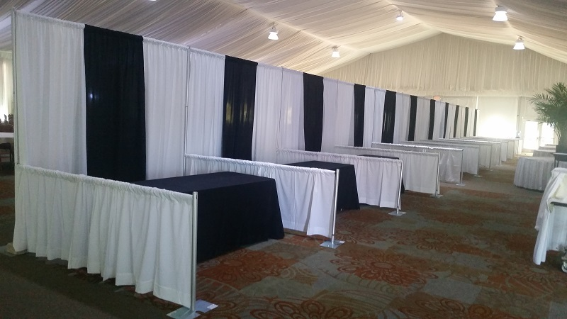 Pipe and Drape Booths
