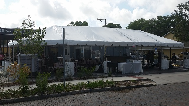 St Pete Frame Tent
