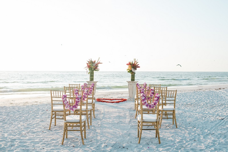 Chiavari Beach Ceremony