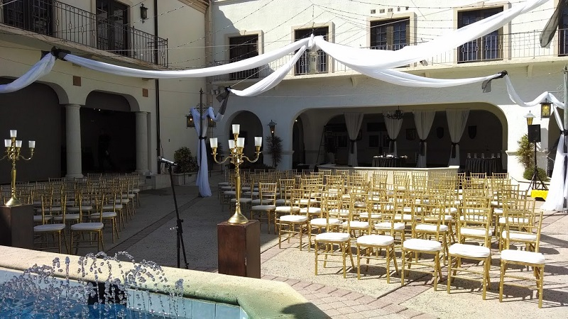 Gold Chiavari Ceremony