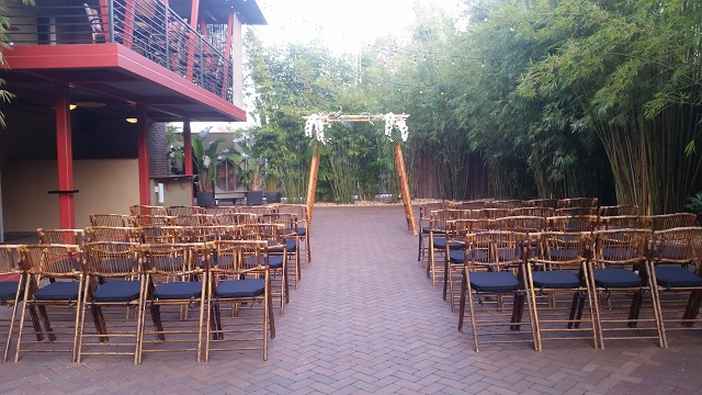 St Pete Bamboo Wedding