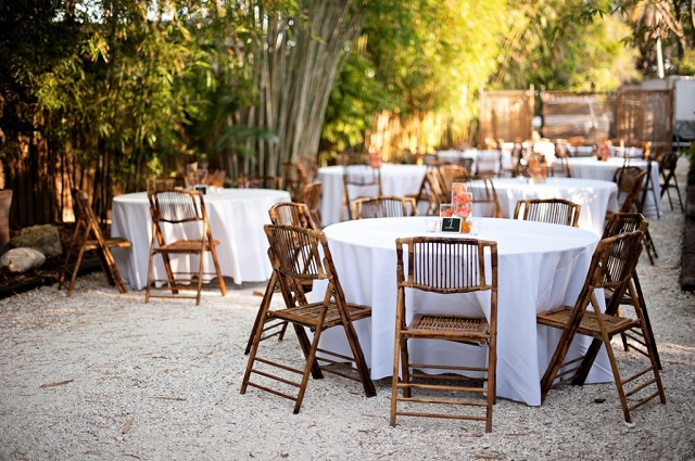 Bamboo Chairs_White Linen