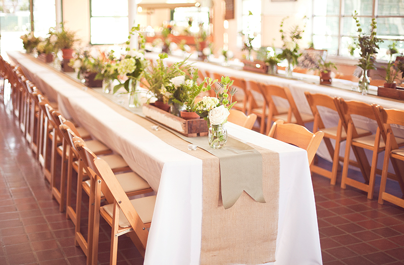 Natural Wood Garden Chairs_Ivory Tablecloths