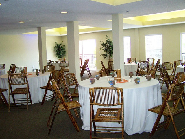 White Linen_Bamboo Chairs