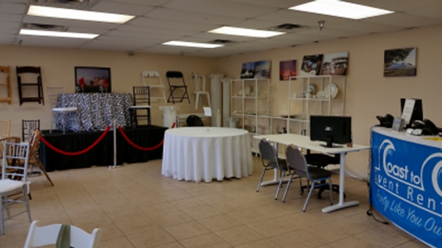 Coast to Coast Event Rentals - Party Rental Store and Event Rentals in St Petersburg, Tampa FL ...