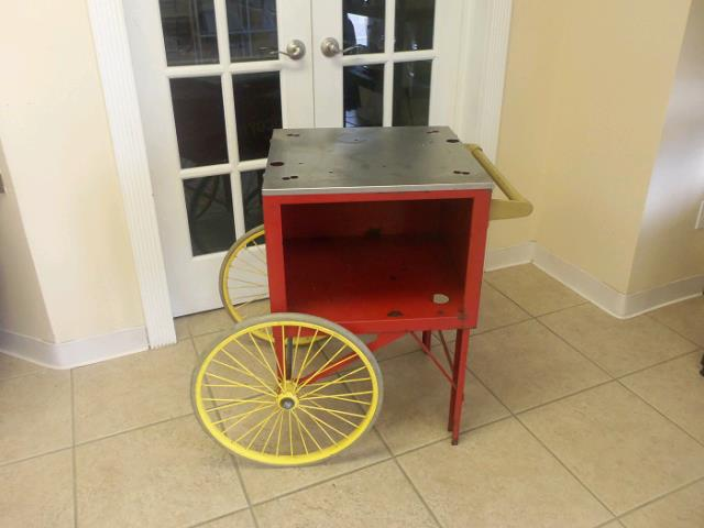 Where to find Popcorn Machine Cart in St. Petersburg