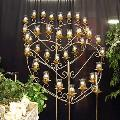 Where to rent CANDELABRA-Brass Heart-17 lite in St Petersburg FL