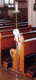 Where to rent CANDELABRA-Brass Aisle w clip in St Petersburg FL