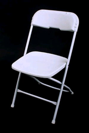 Where to find Basic Folding Chair- White in St. Petersburg
