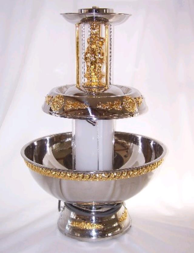 Where to find Beverage Fountain-SS w gold trim-5 gal in St. Petersburg