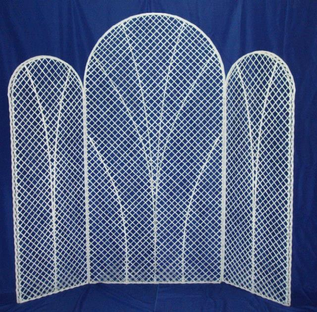 Where to find WICKER TRELLIS SCREEN  3 PCS in St. Petersburg