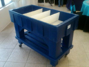 Where to find Display Cooler w shelf-Blue in St. Petersburg