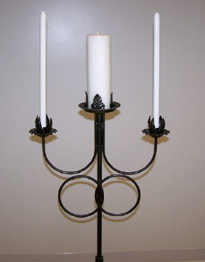Where to find CANDELABRA-Pewter Unity DR-3lt in St. Petersburg