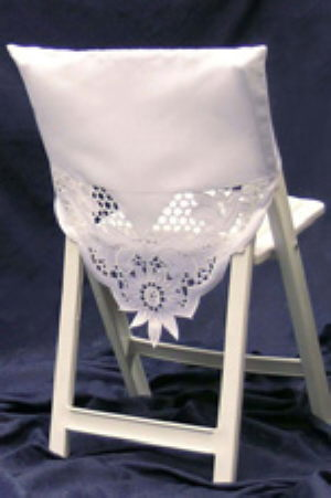 Where to find White satin chair shawl in St. Petersburg