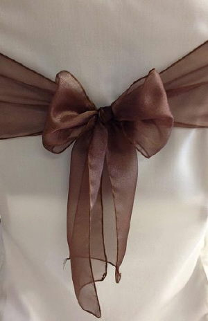 Where to find Sash-Brown Organza  wide in St. Petersburg
