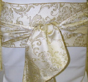 Where to find Sash-Gold Sparkle Brocade  wide in St. Petersburg