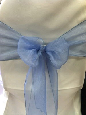 Where to find Sash-Periwinkle Organza  wide in St. Petersburg