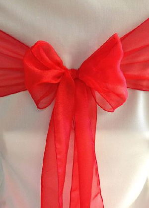 Where to find Sash-Red Organza  wide in St. Petersburg