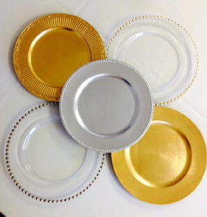Where to find Glass   Acrylic Charger Plates in St. Petersburg