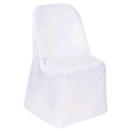 Rental store for Chair Cover-White forBasic folding chair in St. Petersburg FL