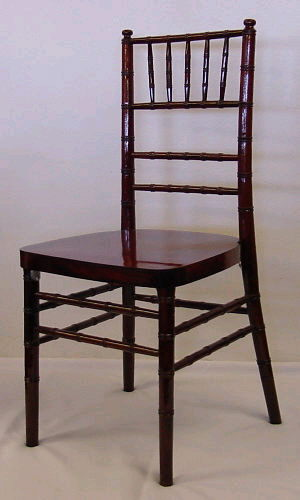 Where to find Chiavari Chair- Mahogany in St. Petersburg