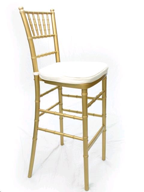 Where to find Chiavari Stool - Gold in St. Petersburg