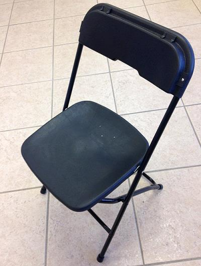 Where to find Basic Folding Chair- Black in St. Petersburg