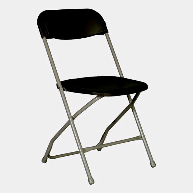 Where to find Basic Folding Chair - Black Alloy in St. Petersburg