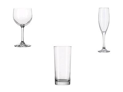 Rent your Glass rental, glasses, bar rentals, martini, champagne, glassware, wine