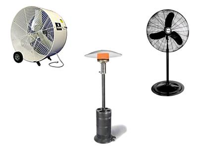 Rent Heater & Fan