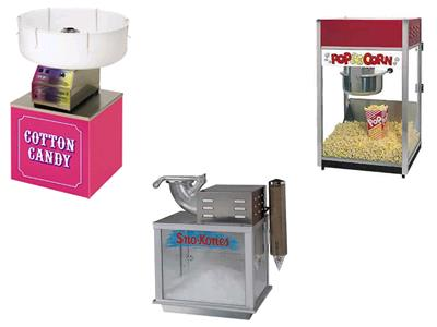 Rent Popcorn & Sno Cone Machines