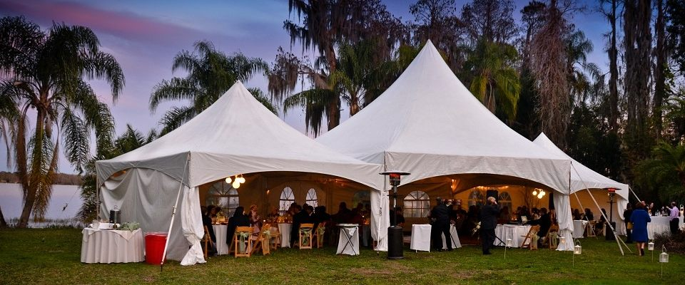 Party Tent rentals in Tampa Bay Area