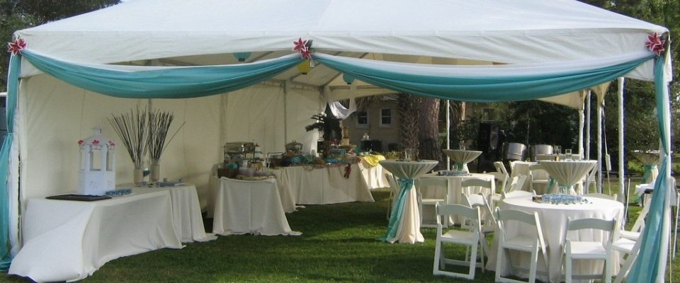 Party Tent rentals in St. Petersburg